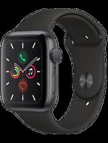 Apple Watch Series 5 40 мм Алюминий Серый космос/Чёрный спортивный MWV82