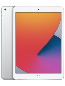 """Apple iPad 10.2"""" 2020 LTE 128 GB Серебристый MYMM2"""