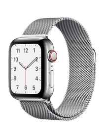 Apple Watch Series 5 LTE 40 мм Серебристый/Миланский серебристый MWWT2