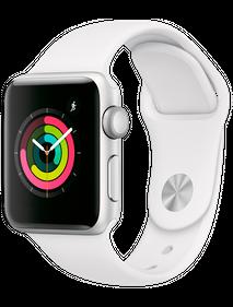Apple Watch Series 4 LTE 40 мм Алюминий серебристый/Белый MTUD2