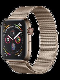 Apple Watch Series 5 LTE 44 мм Сталь золотистый/Миланский золотой MWW62