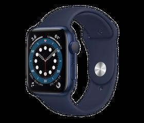 Apple Watch Series 6 40 мм Алюминий Синий/Тёмный ультрамарин MG143RU-A