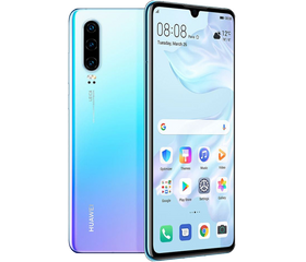 Huawei P30 6/128 GB ELE-L29 Breathing Crystal (Светло-голубой)