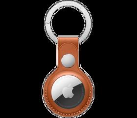 Брелок с кольцом Apple Key Ring, Золотисто-коричневый (MX4M2)
