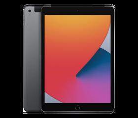 "Apple iPad 10.2"" 2020 LTE 128 GB Серый Космос MYML2"