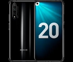 HONOR 20 6/128 GB Полночный чёрный