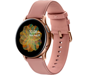 Samsung Galaxy Watch Active 2 40 мм (Сталь, Золотистый)
