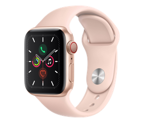 Apple Watch SE 40 мм Алюминий Золотистый/Розовый песок MYDN2RU-A