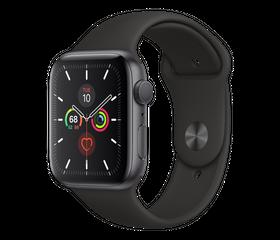 Apple Watch SE 44 мм Алюминий Серый космос/Чёрный MYDT2RU-A