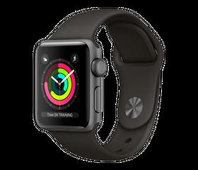 Apple Watch Series 3 LTE 38 мм Алюминий Серый Космос/Серый MR2W2