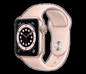 Apple Watch Series 6 44 мм Алюминий Золотистый/Розовый песок M00E3RU-A