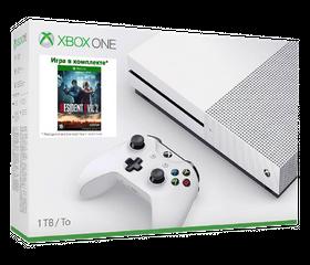 Игровая консоль Xbox One S 1 TB + Resident Evil 2