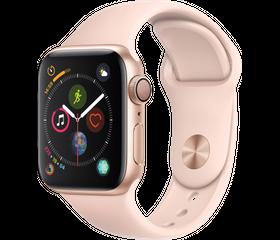 Apple Watch Series 4 LTE 40 мм Алюминий золотистый/Розовый песок MTUJ2
