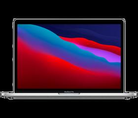 "Apple MacBook Pro 13"" M1 2020 3,2 Мгц, 8 GB, 512 GB SSD, «Silver» [MGNA3]"