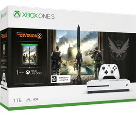 Игровая консоль Xbox One S 1 TB + Tom Clancy's The Division 2