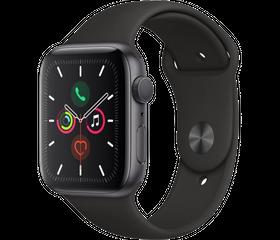 Apple Watch Series 5 (LTE) 44 мм Алюминий Серый Космос/Чёрный MWWE2