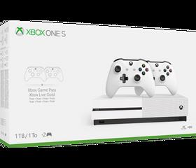 Игровая консоль Xbox One S 1 TB (2 геймпада)
