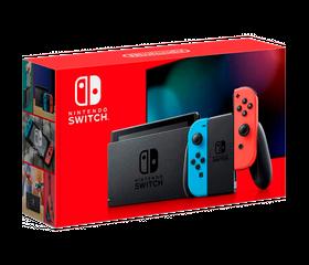 Игровая консоль Nintendo Switch Красный/Синий