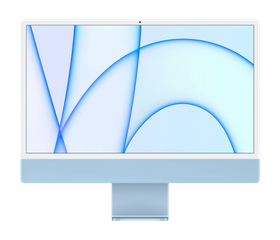 "Apple iMac M1 2021 24"", 8 GB, 256 GB SSD, Синий [MJV93]"