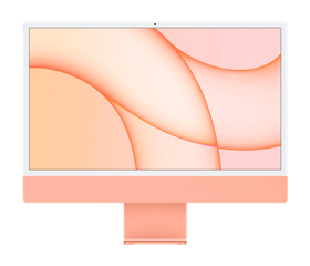 """Apple iMac M1 2021 24"""", 8 GB, 256 GB SSD, Оранжевый [Z132]"""