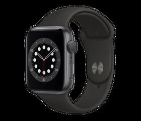 Apple Watch Series 6 40 мм Алюминий Серый Космос/Чёрный MG133RU-A