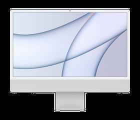 "Apple iMac M1 2021 24"", 8 GB, 256 GB SSD, Серебристый [MGTF3]"