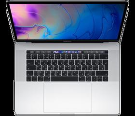 "Apple MacBook Pro 15"" (2019) Core i7 2,6 ГГц, 16 GB, 256 GB SSD, «Silver» [MV922]"