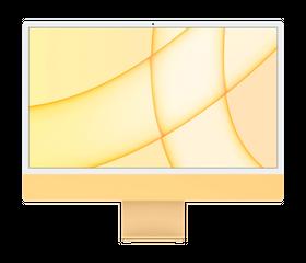 "Apple iMac M1 2021 24"", 8 GB, 256 GB SSD, Жёлтый [Z12S]"