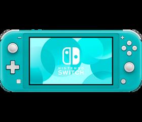 Игровая консоль Nintendo Switch Lite Голубой