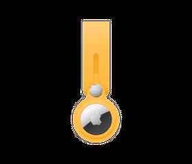 Брелок-подвеска Apple AirTag Loop, Ярко-желтый (MK0W3)