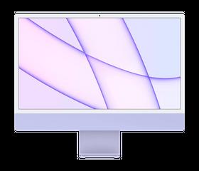 "Apple iMac M1 2021 24"", 8 GB, 256 GB SSD, Фиолетовый [Z130]"
