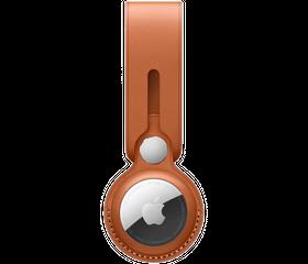 Брелок-подвеска Apple AirTag Loop, Золотисто-коричневый (MX4A2)