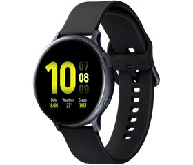 Samsung Galaxy Watch Active 2 40 мм (Алюминий, Лакрица)